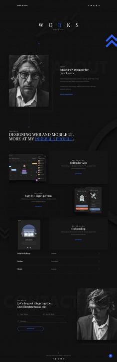 Violin Dark – Portfolio