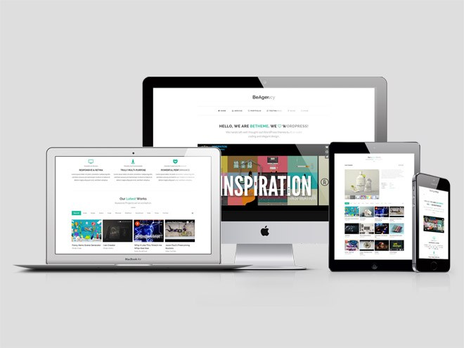 BeAgency : Minimal WordPress Theme for Creative Agency