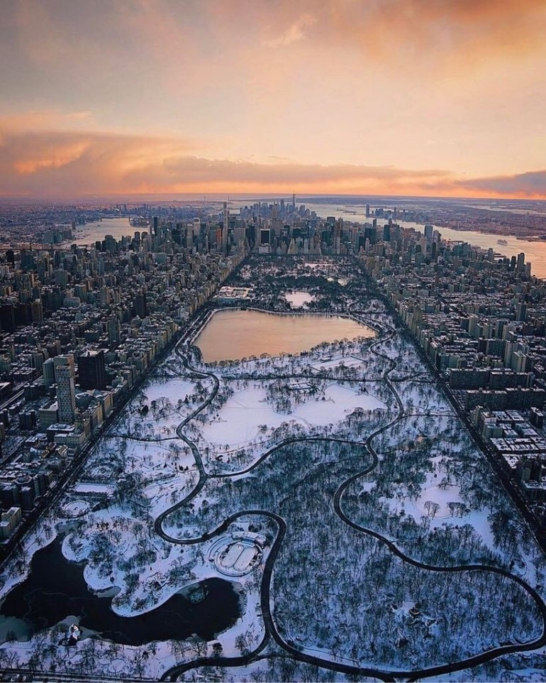 Central Park is living an Ice Age