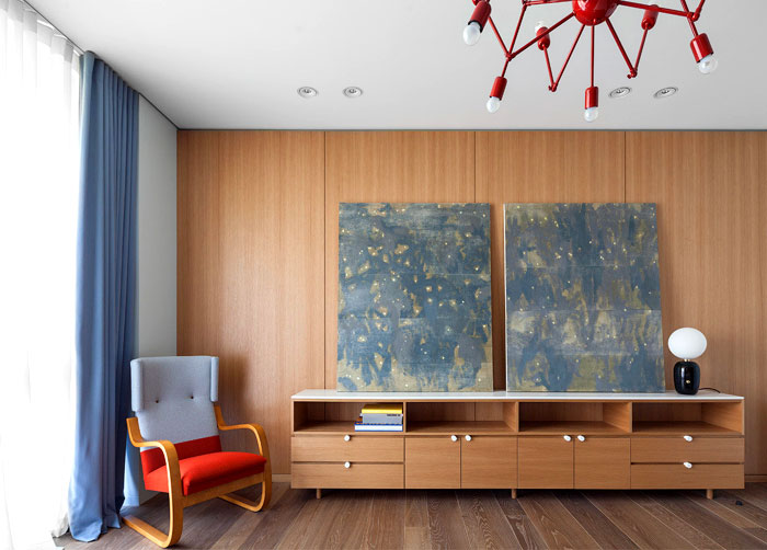 Moscow Dwelling by Studio FORM