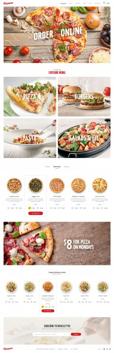 Pizzaro – Food Online Ordering