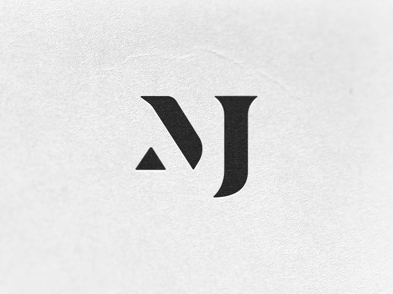 MJ Monogram Exploration 3 by Ryan Kirkpatrick