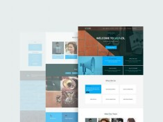 Monzil : Free Responsive and Multipurpose PSD Template