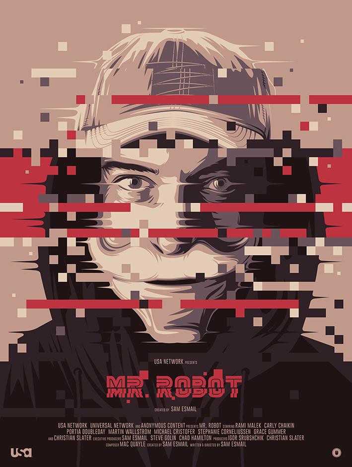 MR ROBOT for PosterSpy/Amazon UK
