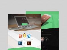 Varaga : Free Landing Page PSD Template