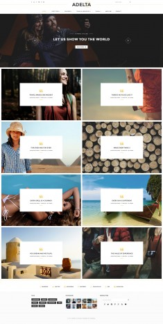 Paperio – Responsive and Multipurpose WordPress Blog Theme – Adelta