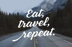 Eat, Travel, Repeat