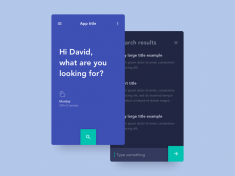 Daily UI #022 – Search by David Rodriguez