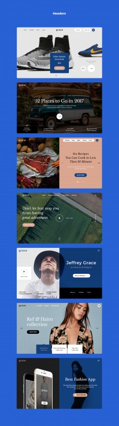 Grace UI Kit