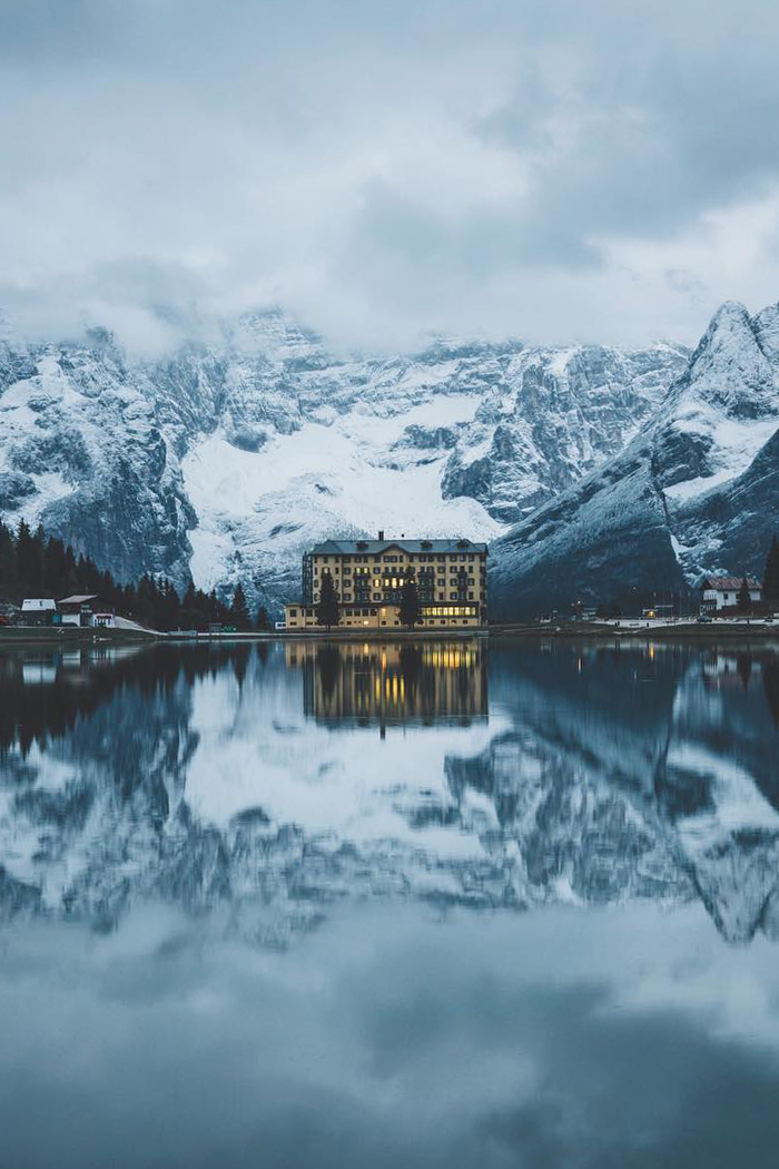 Lake Misurina by Leo Thomas