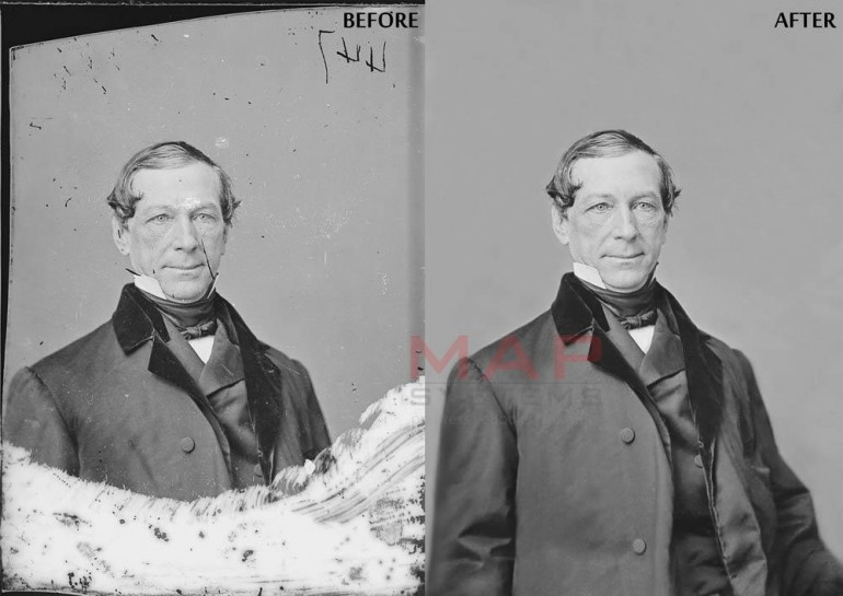 Get your old, torn, damaged photographs restored from MAP Systems at most competitive pricing!