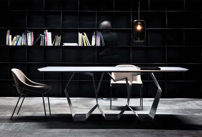 Quasimodo Table by Ronda Design