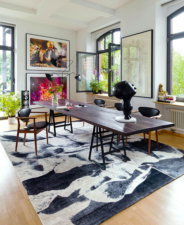 Current carpet trends 2018 on inspirationde - Latest dining room trends ...