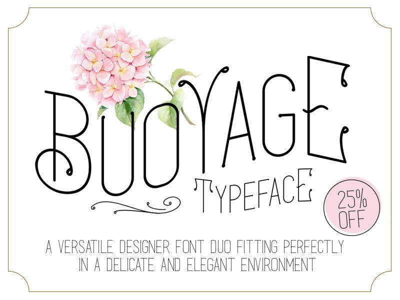 Buoyage Typeface