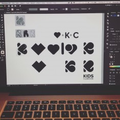 Logo process – Kids Clubhouse