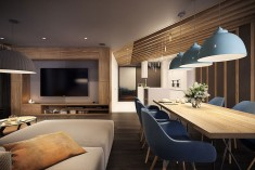 Modern dining room – Modern apartment n°1 – img03