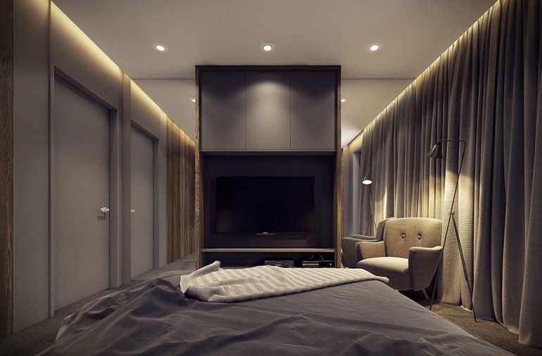 Modern bedroom – Modern apartment n°1 – img07