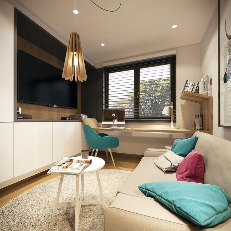 Modern little room/working space – Modern apartment n°1 – img08