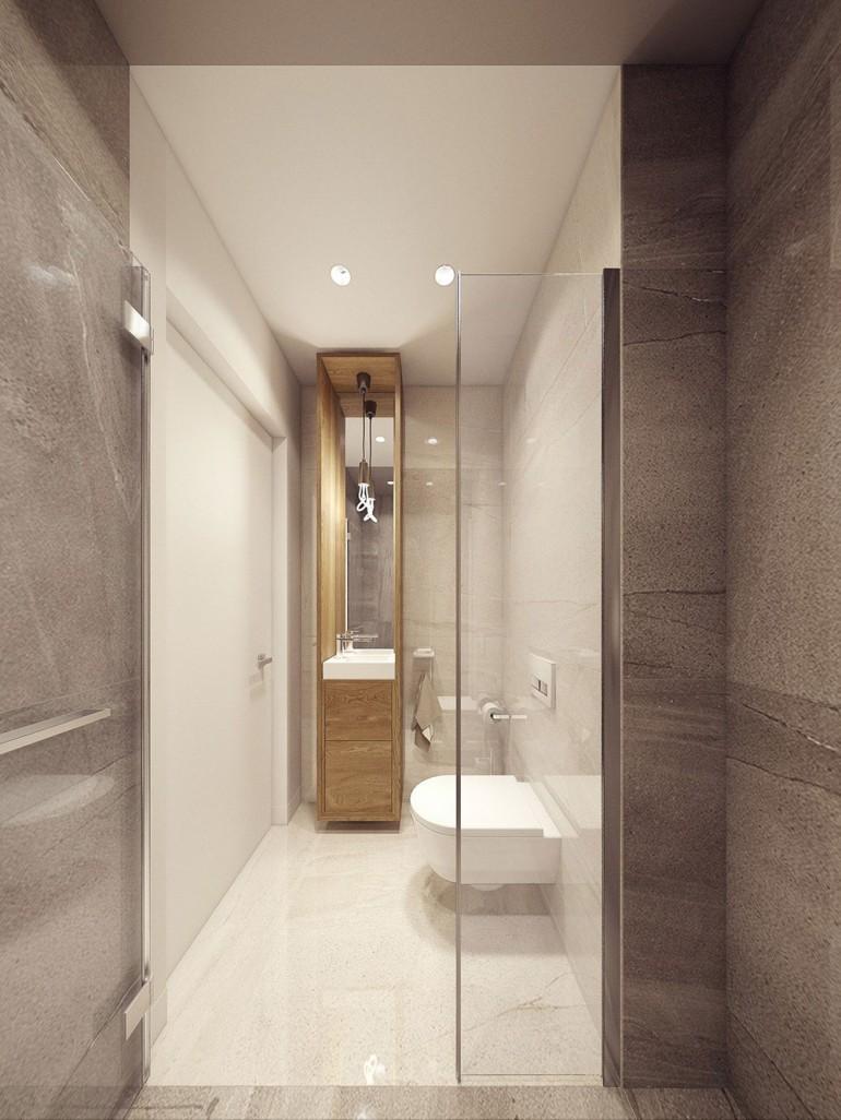 Modern bathroom – Modern apartment n°1 – img10