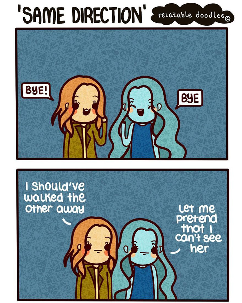 Artist Draws Comics That People Can Relate To