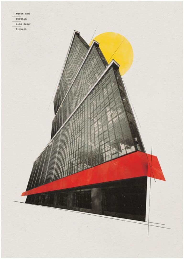 Bauhaus art as life on inspirationde for Architecture 770