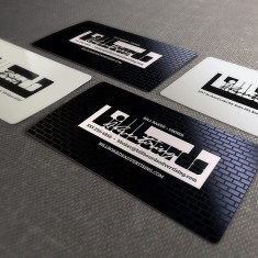 Billboards Advertising Business Card Design