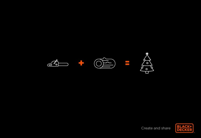 Black and Decker: Christmas tree