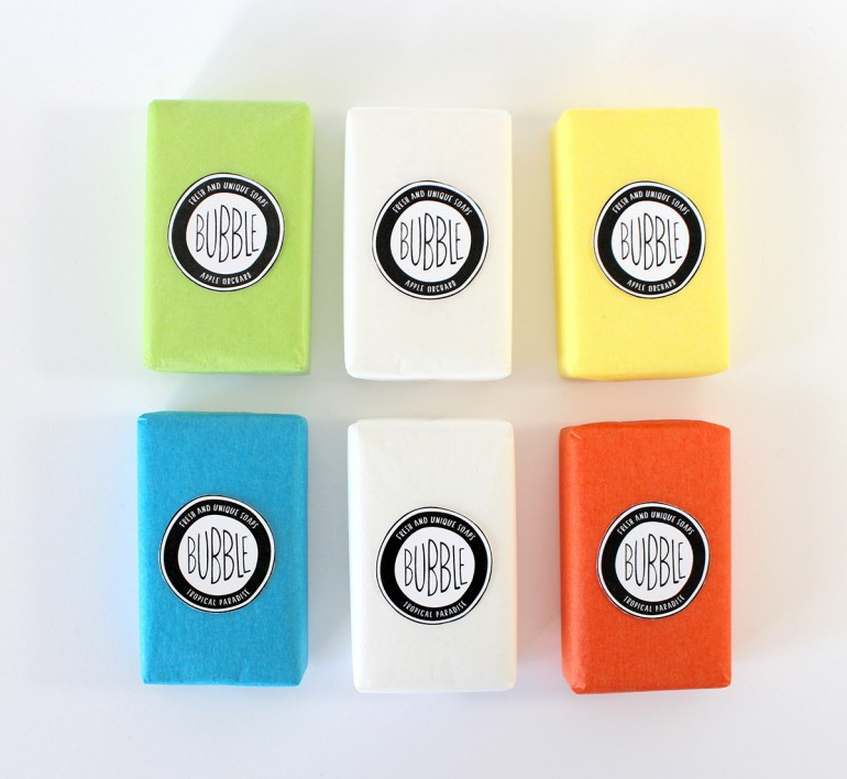 Bubble Soaps Sustainable Packaging
