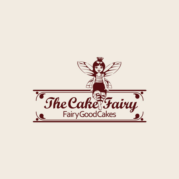 The Cake Fairy Logo Design