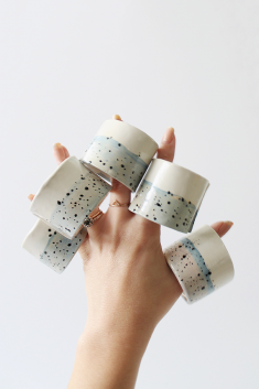 Diy Faux Ceramic Napkin Rings