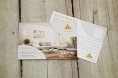 Interior Designer Postcard Design