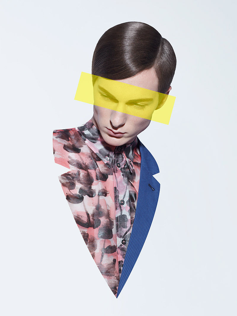 Fragmented Pop Art Editorials : modern design