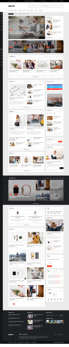 Spectr – Responsive News and Magazine