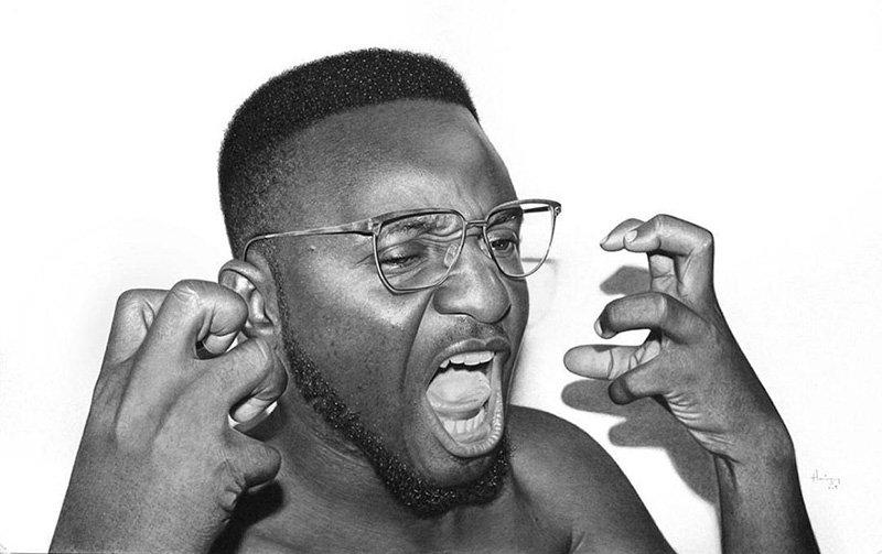 Hyper Realistic Pencil Drawings by Nigerian Artist