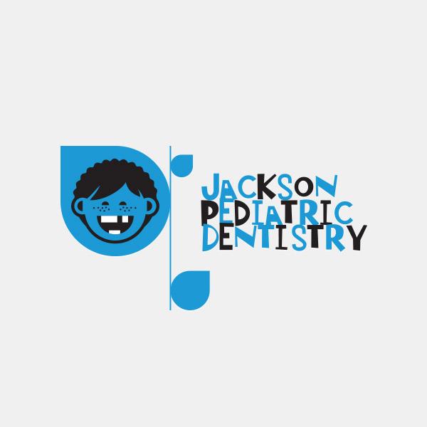 Jackson Pediatric Dentistry Logo Design