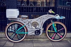 74 Kitchen Utensils Were Used to Make This Bike