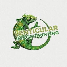 Lenticular Printing Logo Design