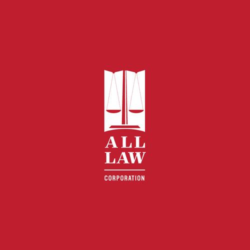 All Law Corporate Logo Design