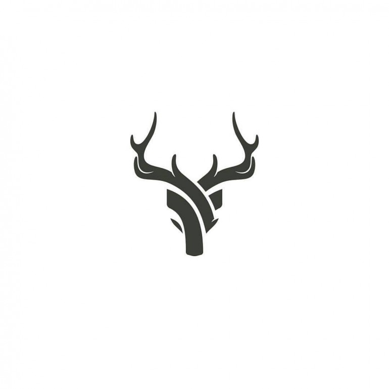 Deer logo design made