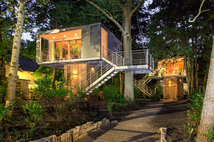 6 Modish Treehouses for Grownups to Spend Time In