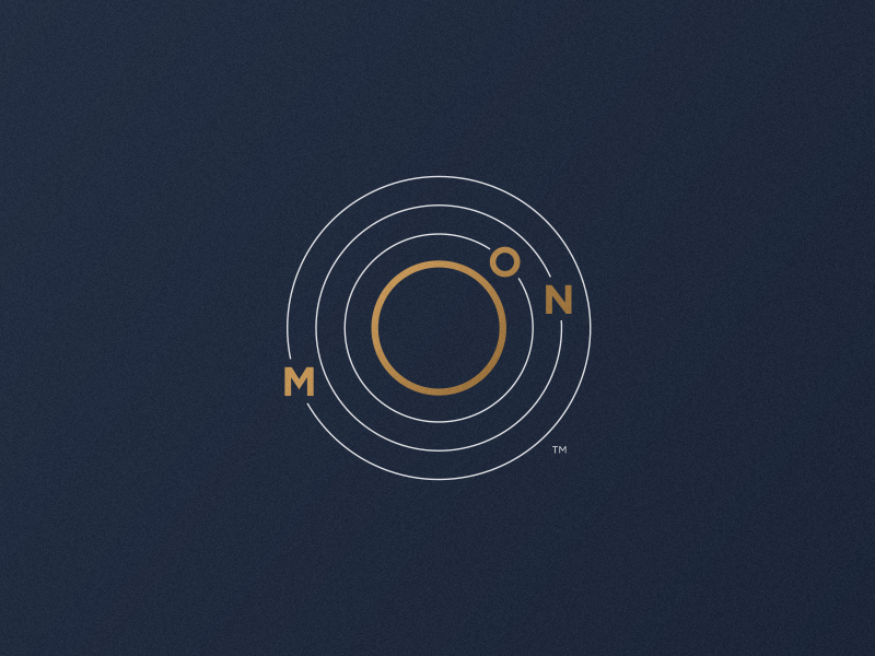 Moon Logo (Orbit) by Jorge Rico