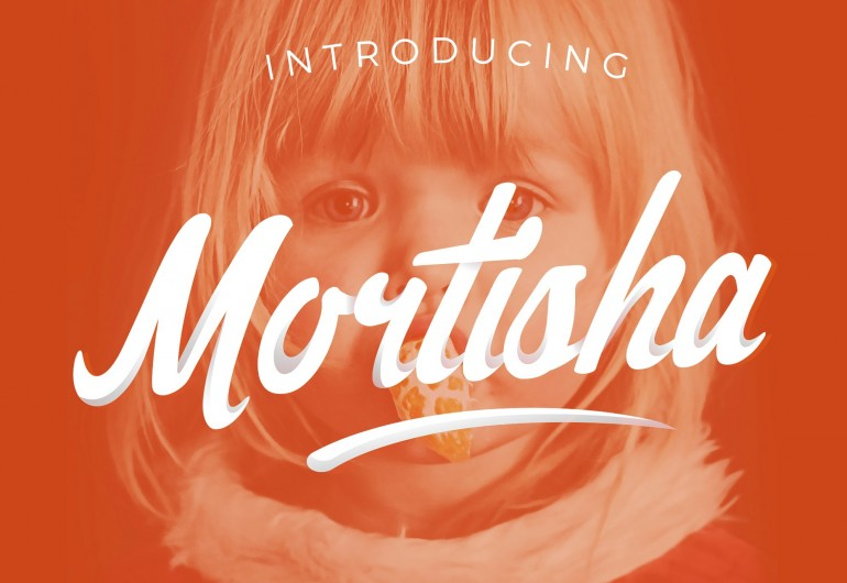 Mortisha Script + Swashes