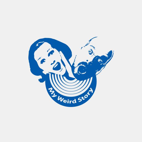My Weird Story Logo Design