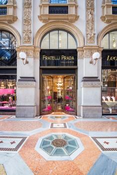 P R A D A § Galleria Vittorio Emanuele II §
