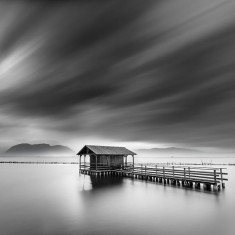 Depth of Nature in Black and White