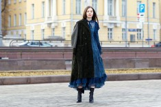 Russia Fashion Week Street Style from Russia's Best Design