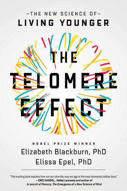 The Telomere Effect cover design by Jeff Miller (Grand Central / 2017)