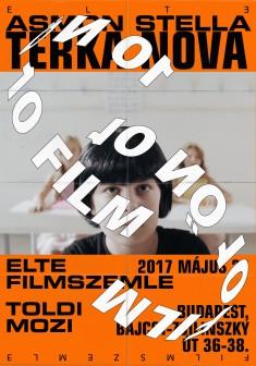 Poster for ELTE FILM FESTIVAL Budapest