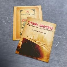 Titanic Universe Flyer Design