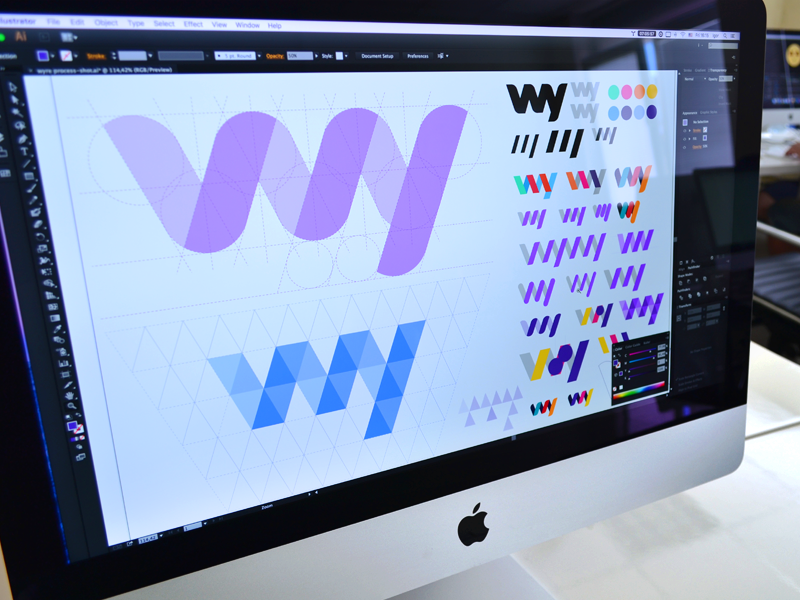 WY Logo Exploration – Branding by Ramotion